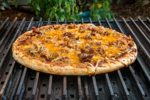 BBQ Pizza on GrillGrates