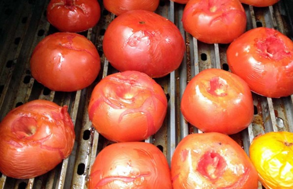grilled tomato