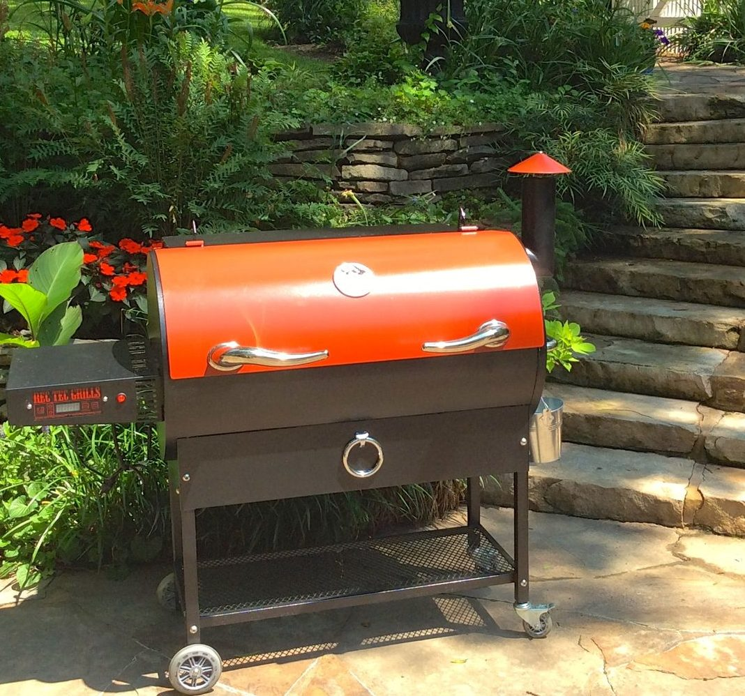 The RecTec Pellet Grill leads the pack in sexy!